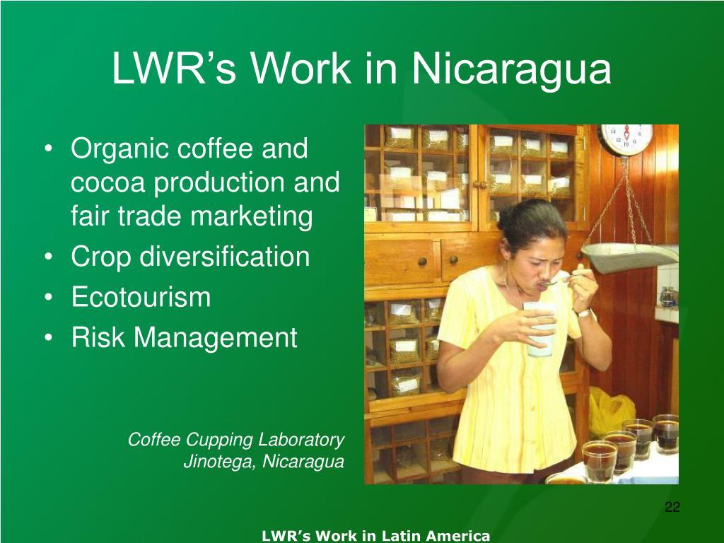 LWR's Work in Nicaragua