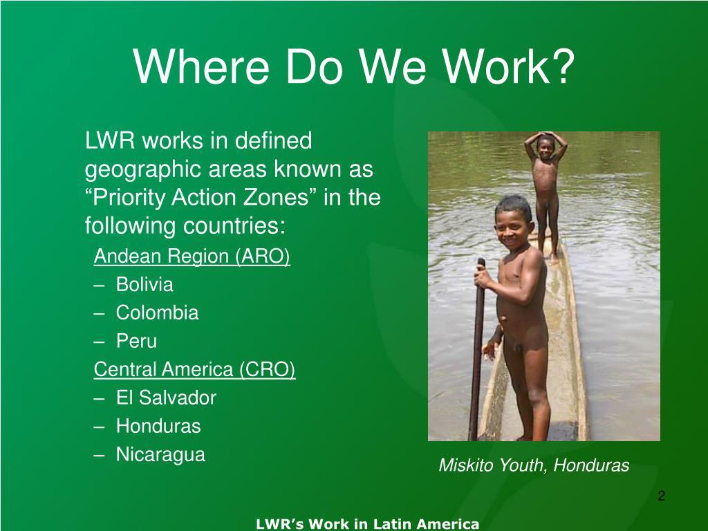 Where Do We Work?