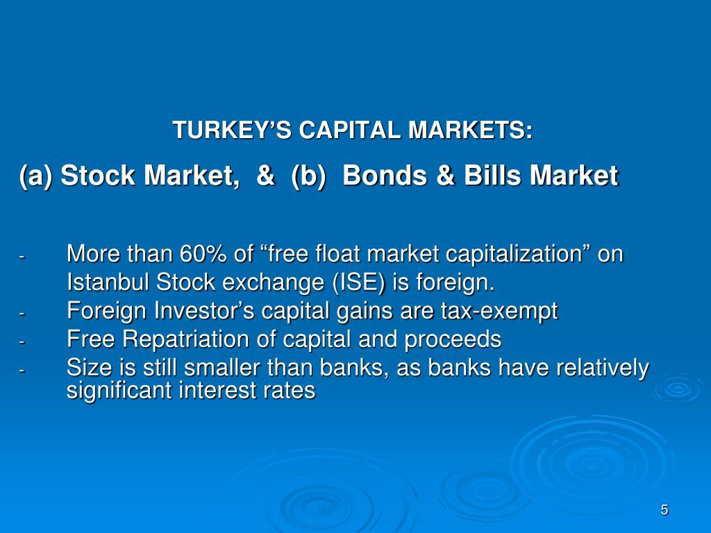 TURKEY'S CAPITAL MARKETS:
