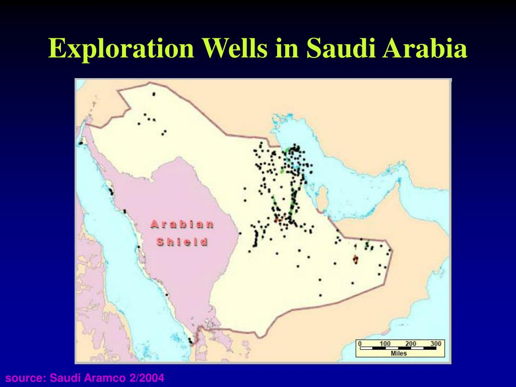 Exploration Wells in Saudi Arabia
