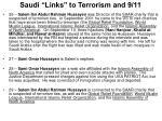 saudi links to terrorism and 9 1110