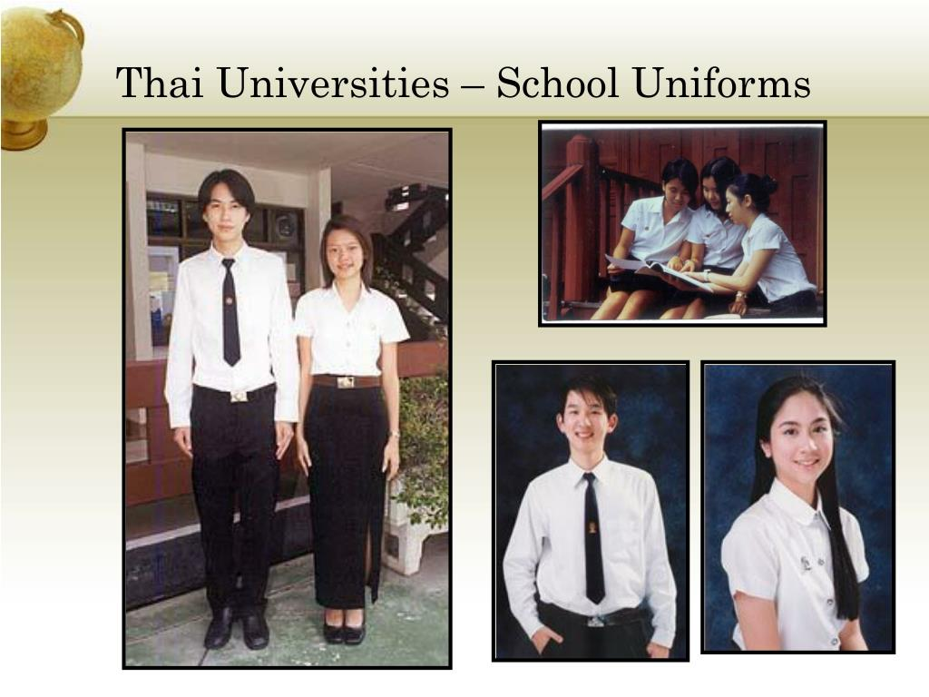 Thai Universities – School Uniforms