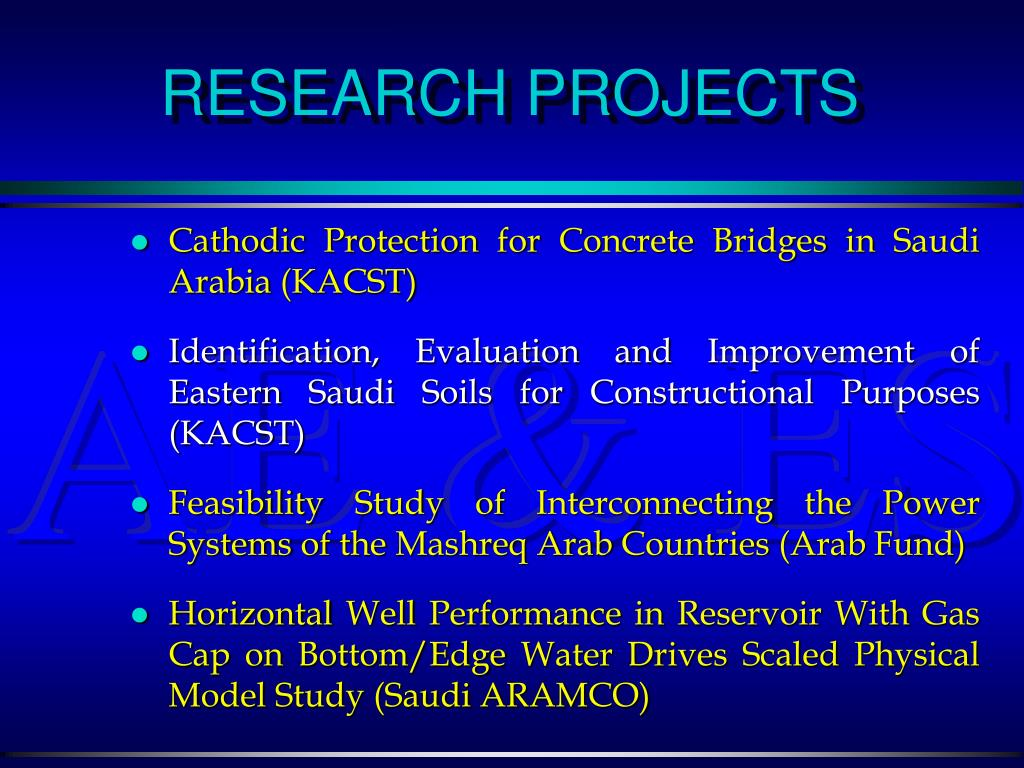 Cathodic Protection for Concrete Bridges in Saudi Arabia (KACST)