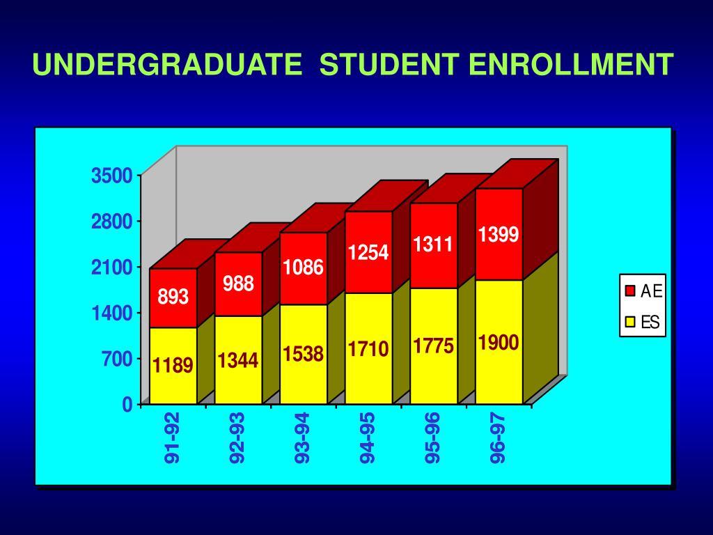 UNDERGRADUATE  STUDENT ENROLLMENT