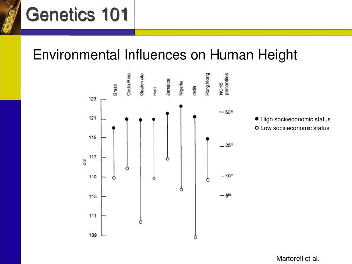 Environmental Influences on Human Height