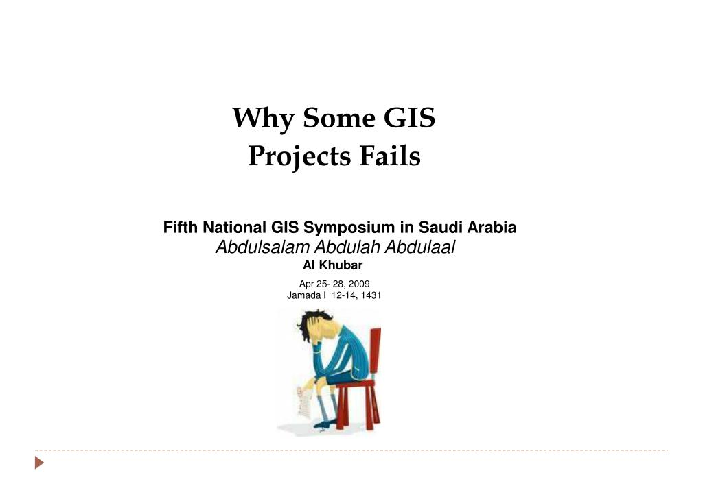 Why Some GIS Projects Fails
