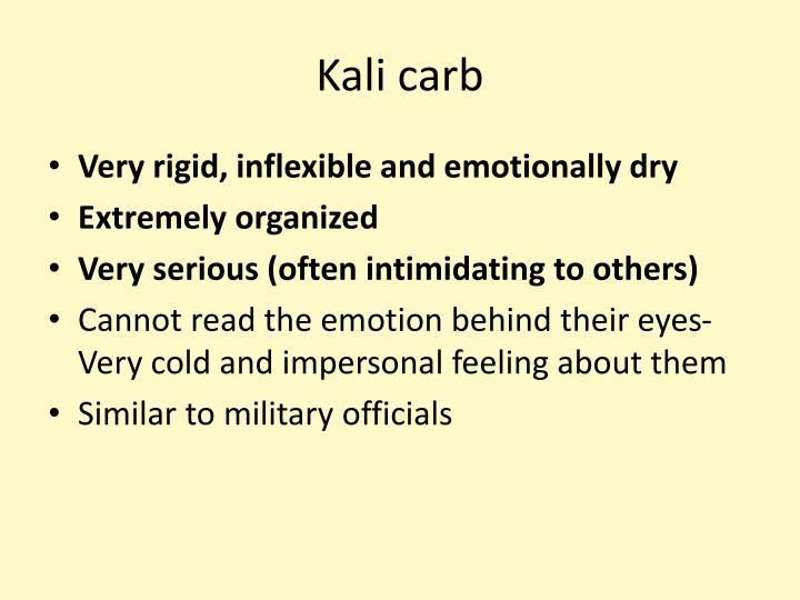 Kali carb