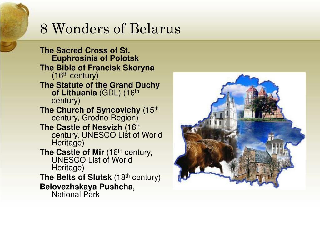 8 Wonders of Belarus