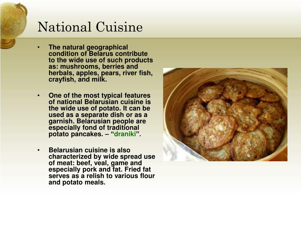 National Cuisine