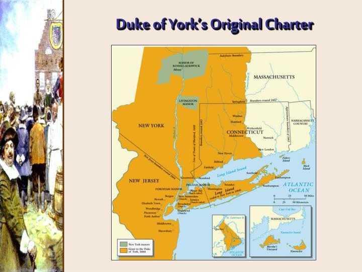 Duke of York's Original Charter