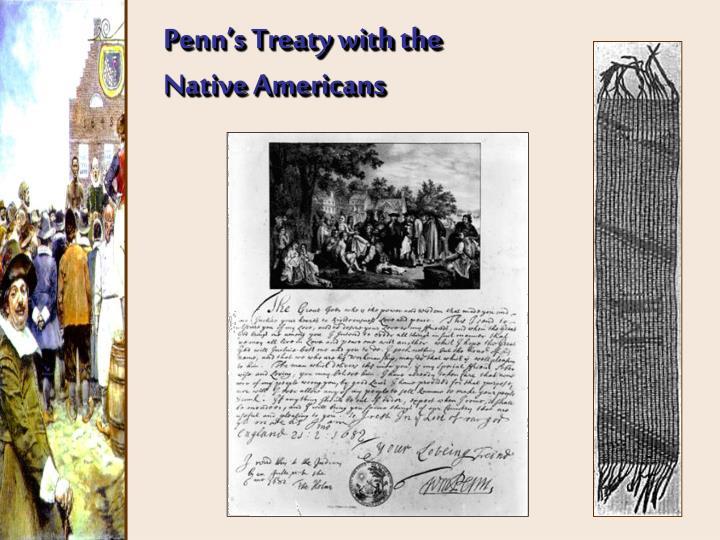 Penn's Treaty with the
