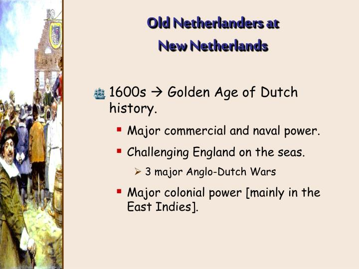 Old Netherlanders at