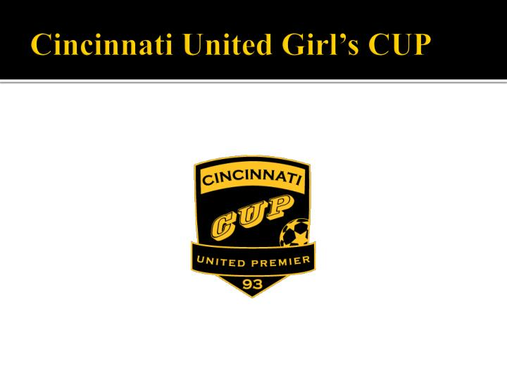 Cincinnati United Girl's CUP
