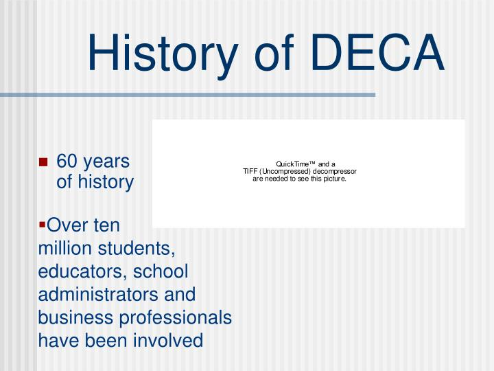 History of deca