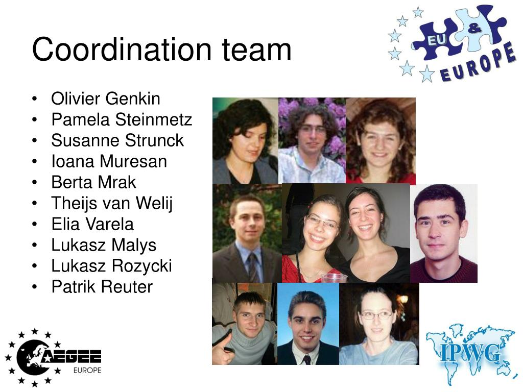 Coordination team