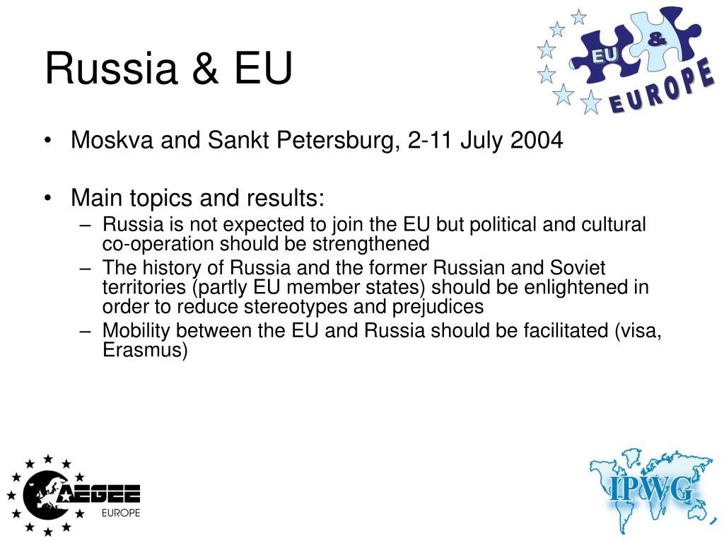 Russia & EU