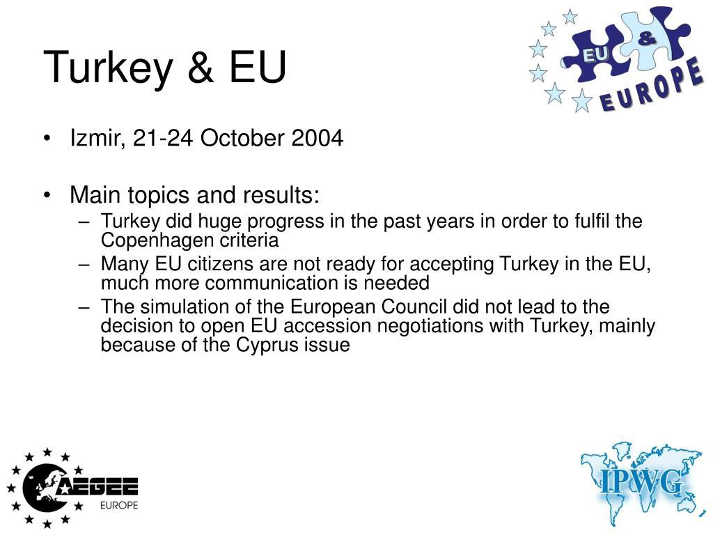 Turkey & EU