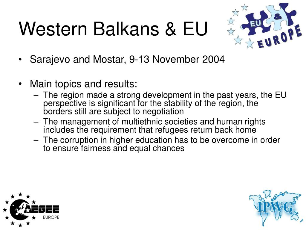 Western Balkans & EU