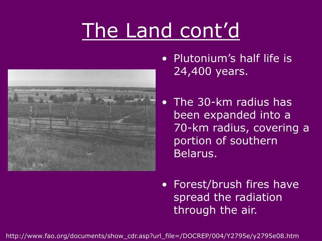 The Land cont'd