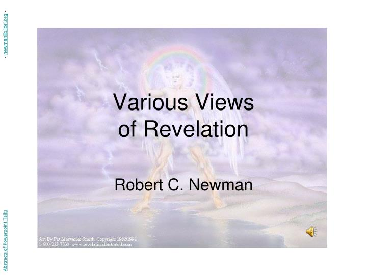 Various views of revelation