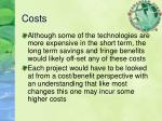 costs