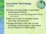 innovative technology corporate
