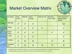market overview matrix
