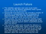 launch failure