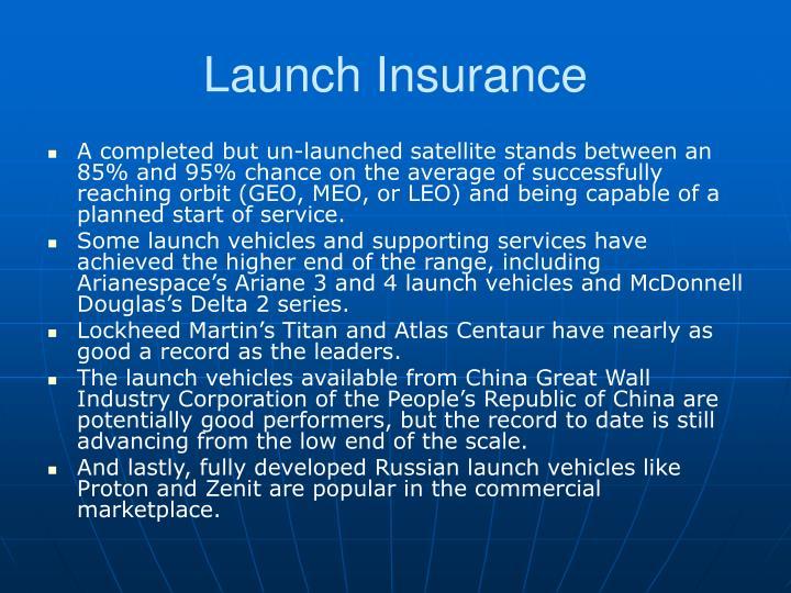 Launch Insurance