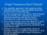 single frequency band payload2