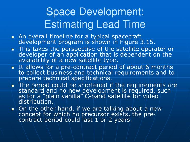 Space Development: