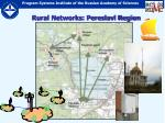 rural networks pereslavl region