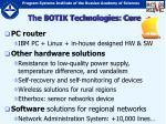 the botik technologies core