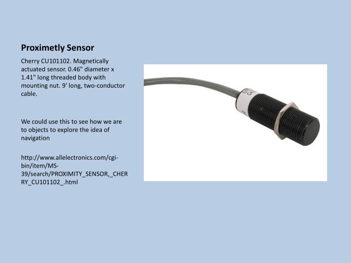 Proximetly Sensor