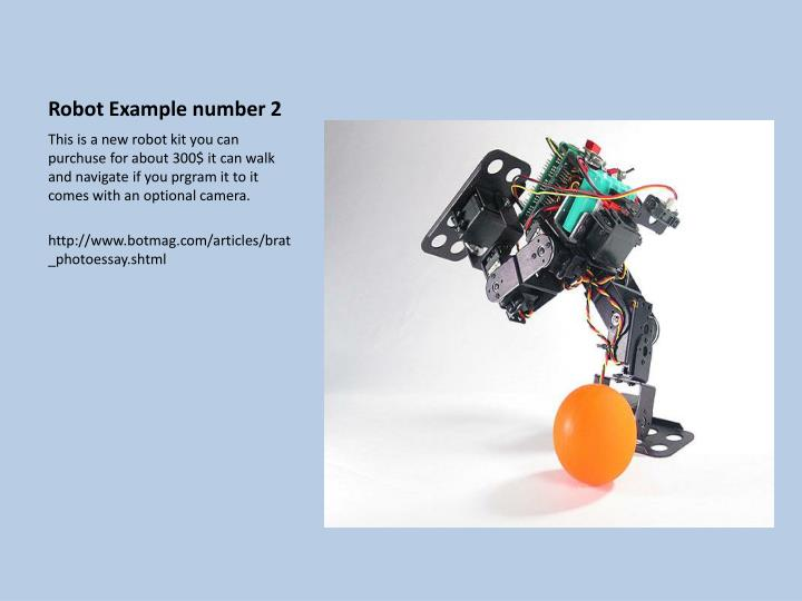 Robot Example number 2