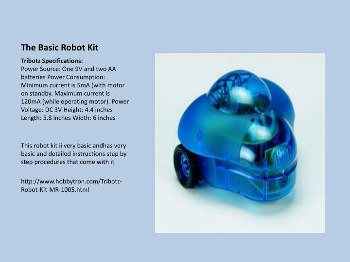 The Basic Robot Kit