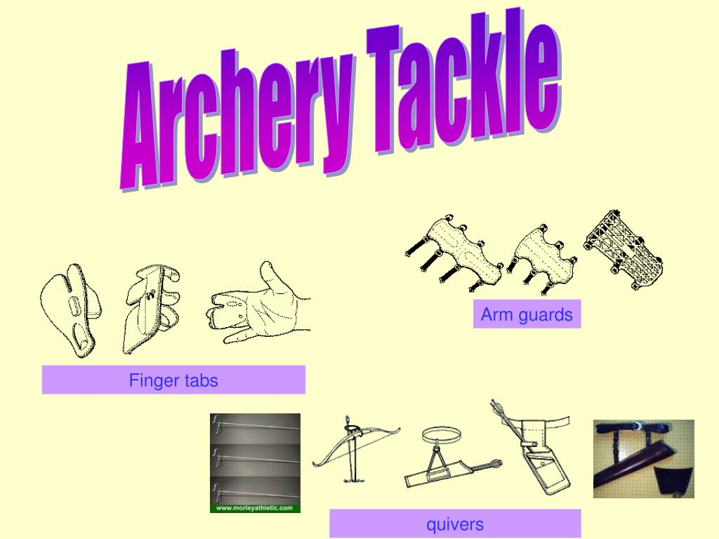 Archery Tackle
