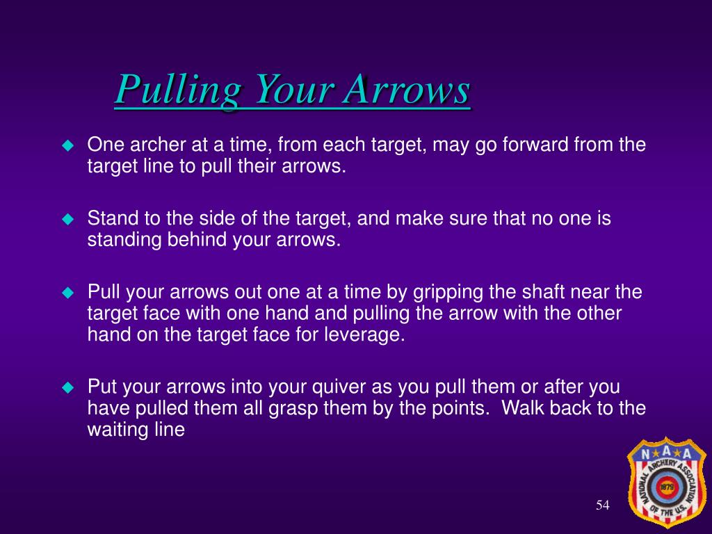 Pulling Your Arrows