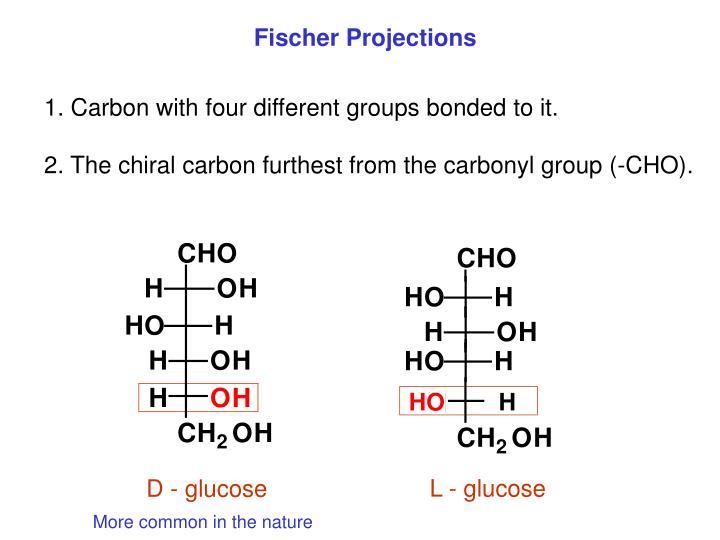 Fischer Projections