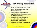 usa archery membership
