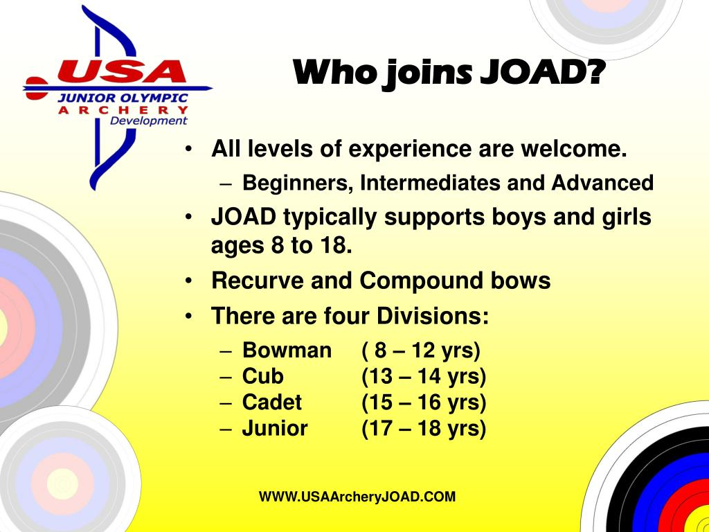 Who joins JOAD?