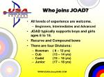 who joins joad