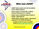 who runs joad