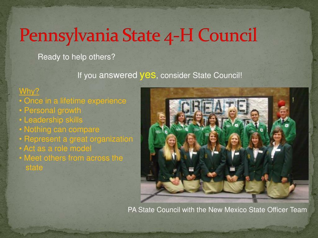 Pennsylvania State 4-H Council