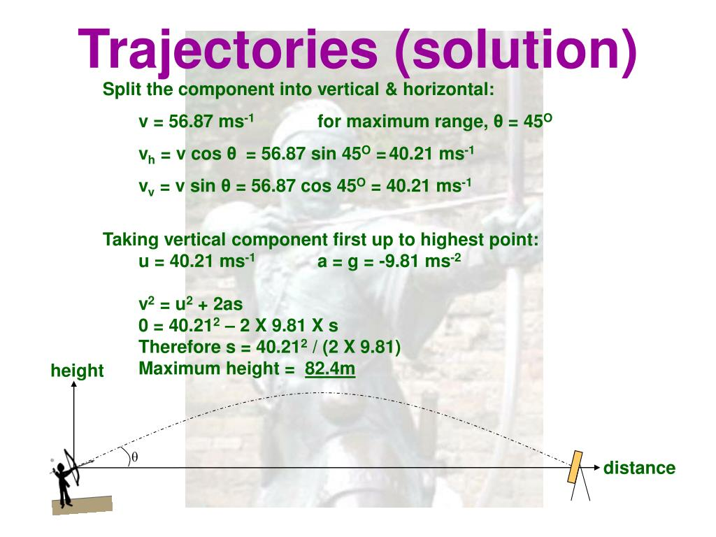 Trajectories (solution)