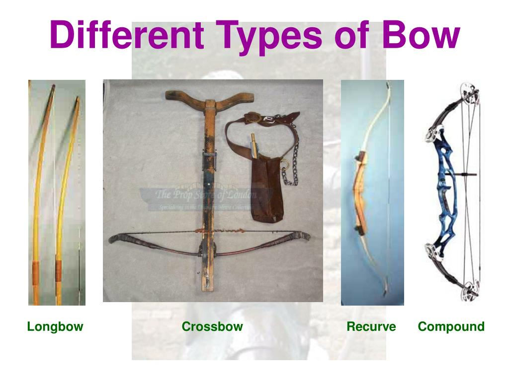 Different Types of Bow