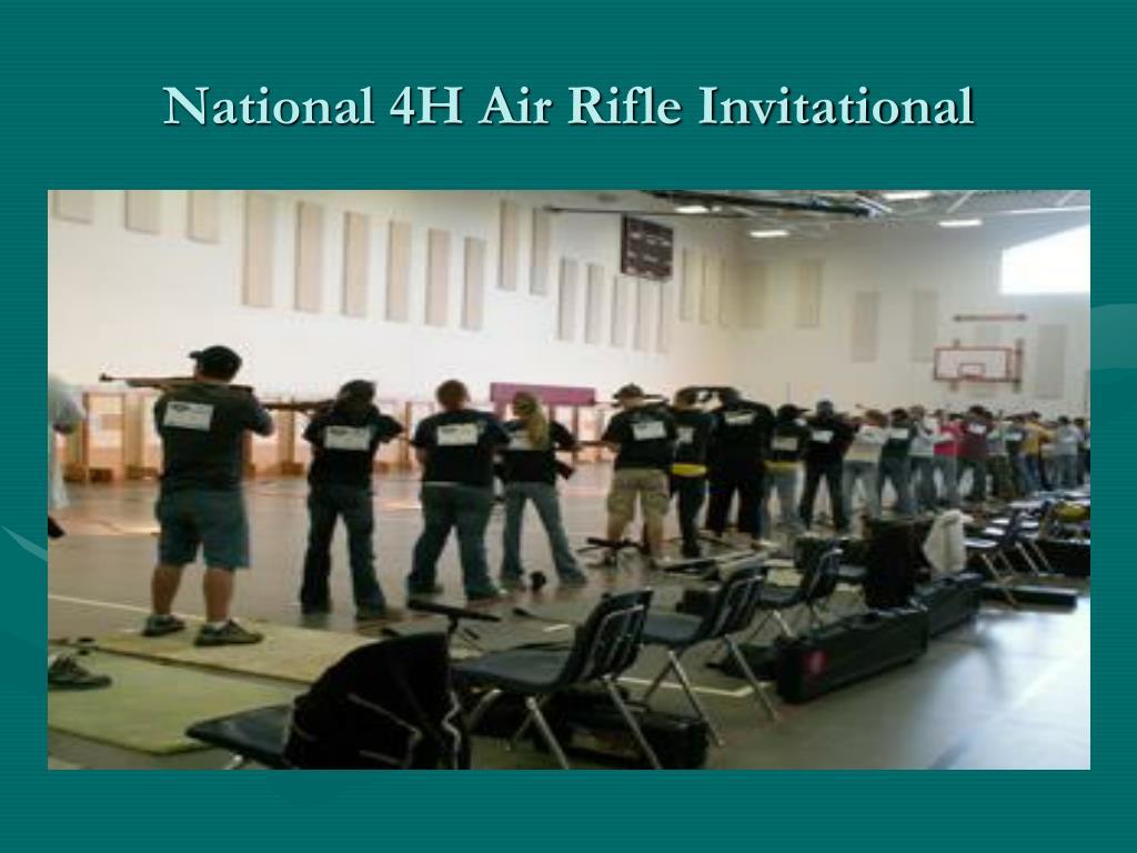 National 4H Air Rifle Invitational