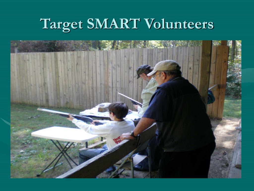 Target SMART Volunteers