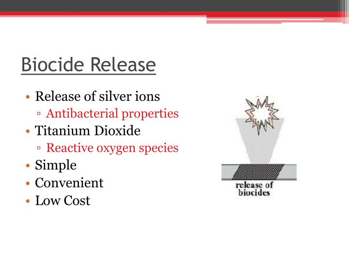 Biocide Release