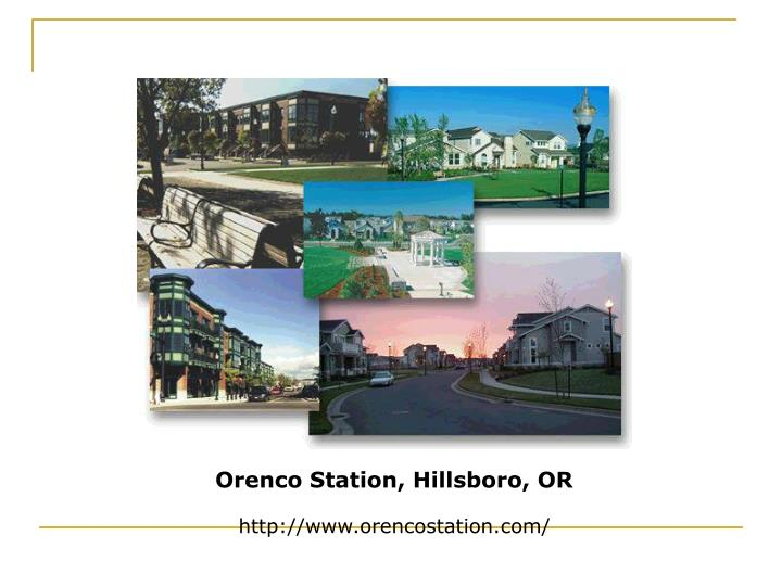 Orenco Station, Hillsboro, OR